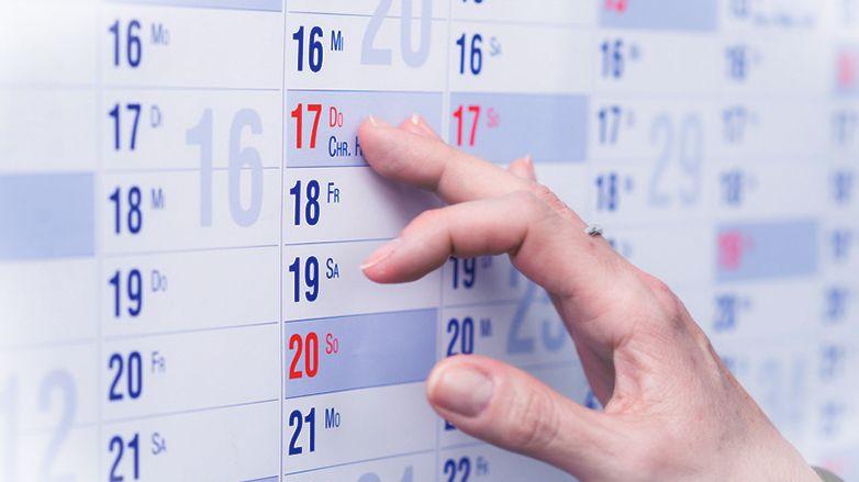 Kalender drucken