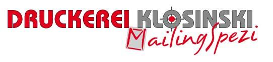 Logo Druckerei Klosinski
