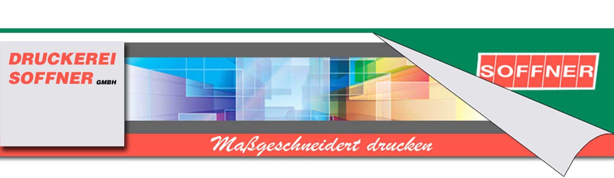 Logo Druckerei Soffner